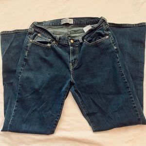 Levi Signature curvy bootcut jeans